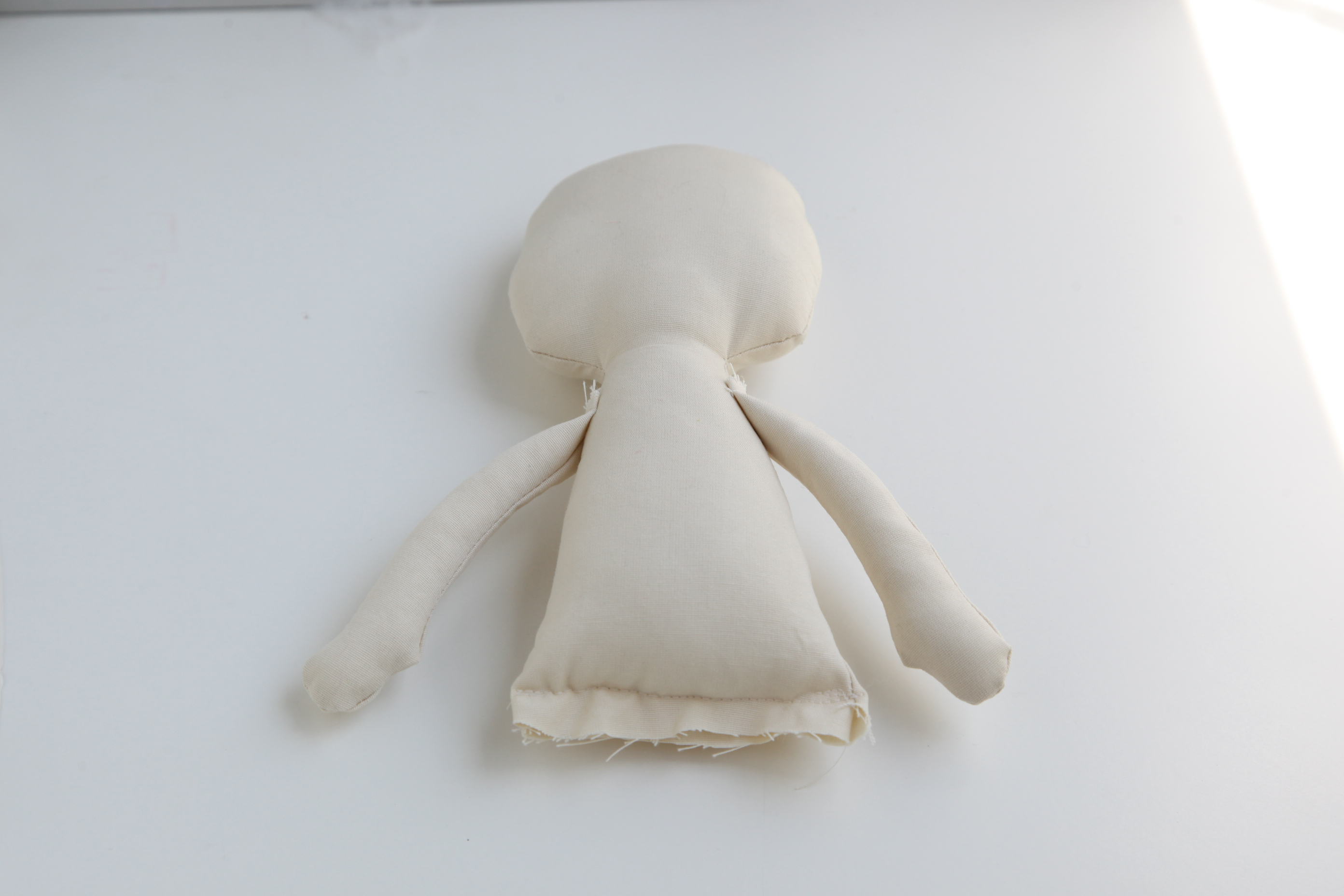 How to make a cloth doll body Minkis Work Table