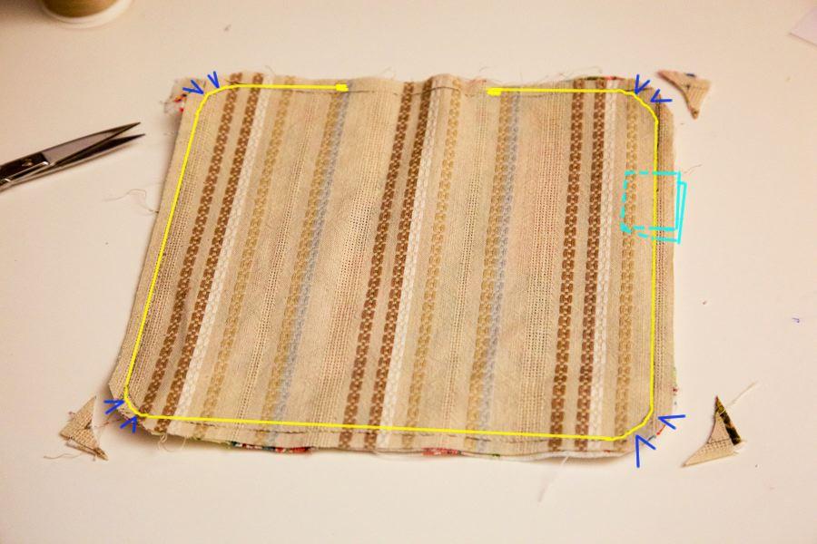 feedsack mat