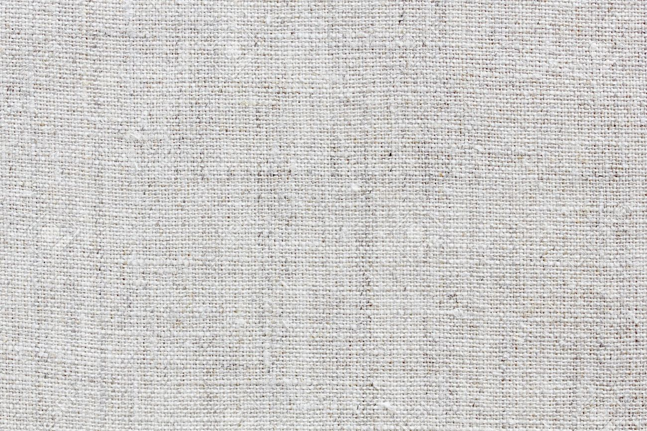 Line Texture Photo : White natural linen texture for the background