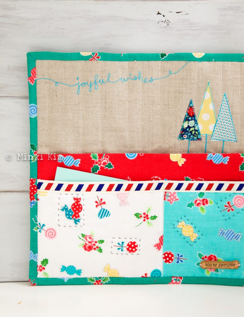 Christmas wall pocket-5