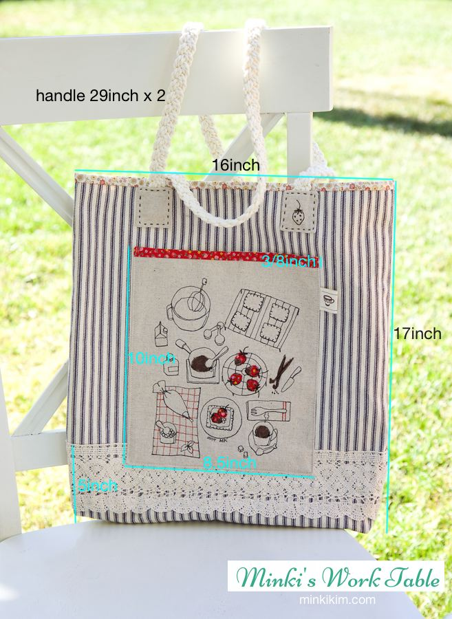 strawberry tote bag1