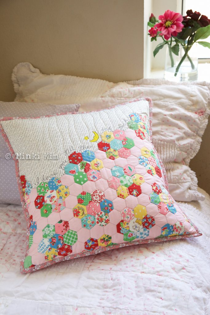 hex cushion_bernina