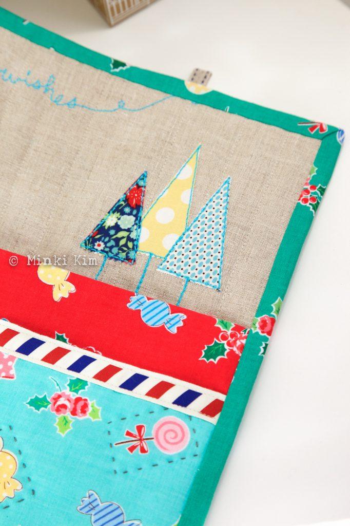 Christmas wall pocket-3