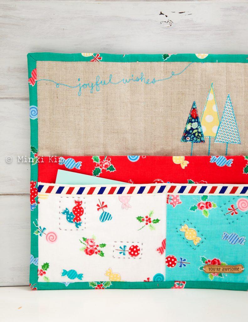Christmas wall pocket-5